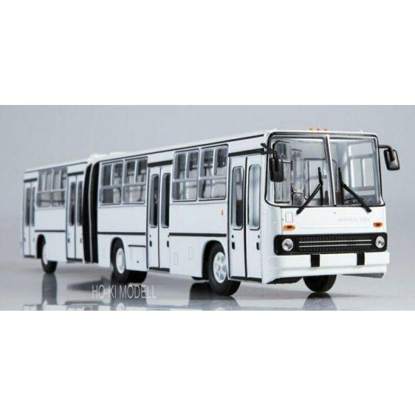 Sovetskij Avtobus SOV1040 Ikarus 280.64 Bolygóajtós Csuklós Autóbusz - Fehér