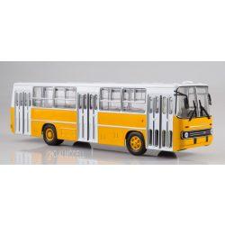 Sovetskij Avtobus SOV1044 Ikarus 260 Ráncajtós Autóbusz - Fehér/Sárga