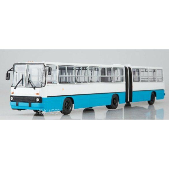Sovetskij Avtobus SOV1047 Ikarus 280 Ráncajtós Csuklós Autóbusz - Fehér/Kék