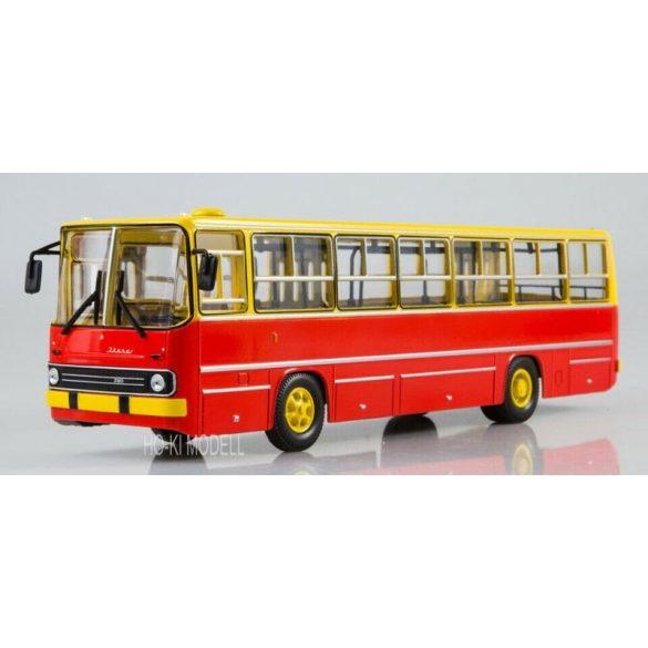 Sovetskij Avtobus SOV1048 Ikarus 260 Ráncajtós Autóbusz - Sárga/Piros