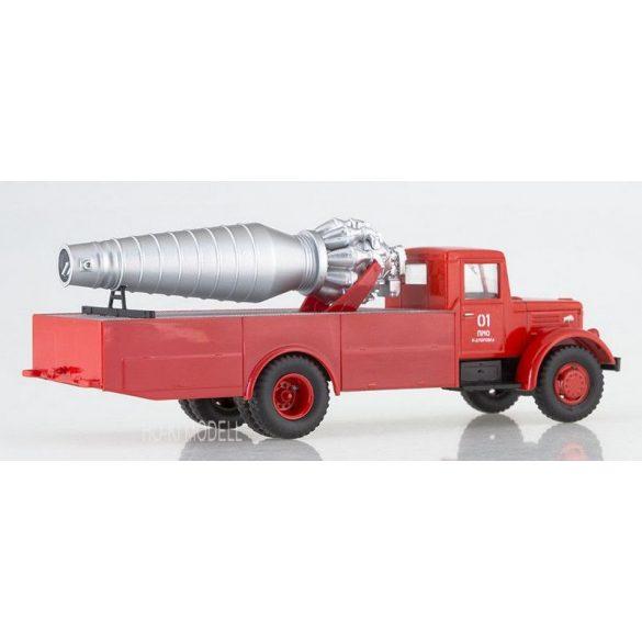 Russian Truck 1009 MAZ-200 Fire Engine AGVT-200 Tűzoltó