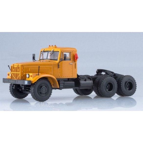 Russian Truck 1012 KRAZ 258B1 Nyergesvontató Teherautó