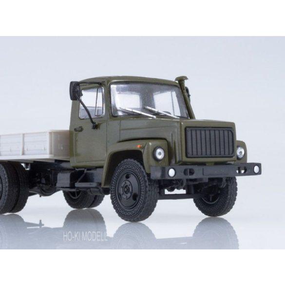 Russian Truck 1015 GAZ 3309 Platós Ponyvás Teherautó
