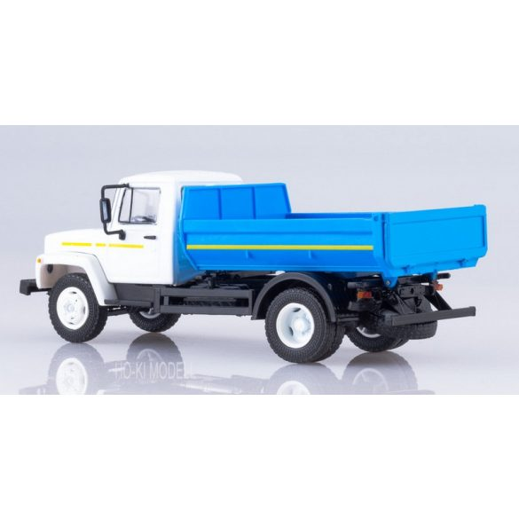 Russian Truck 1026 GAZ 35072 Billencses Teherautó