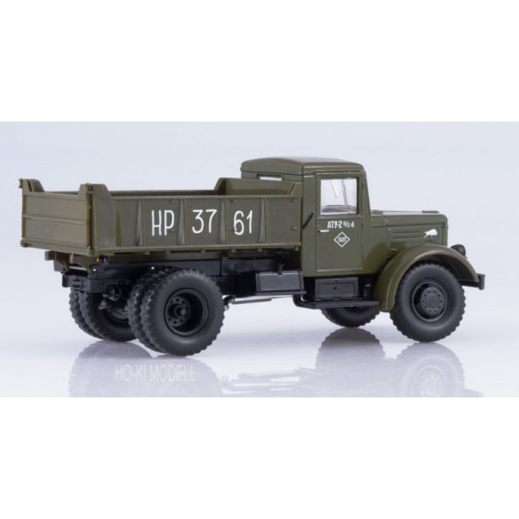 Russian Truck 1028 MAZ-205 Billencses Teherautó