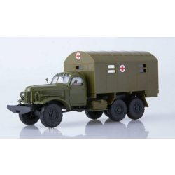Russian Truck 1040 ZIL-157 KUNG-1M  Military Ambulance